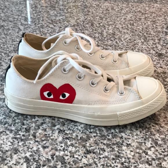 82c60de299bd5 Comme des Garcons Shoes   Comme De Garon Converse Size 365 Eu   Poshmark